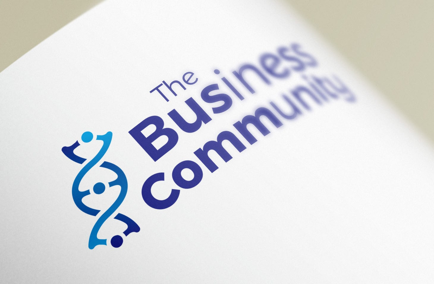 Business Community logo design