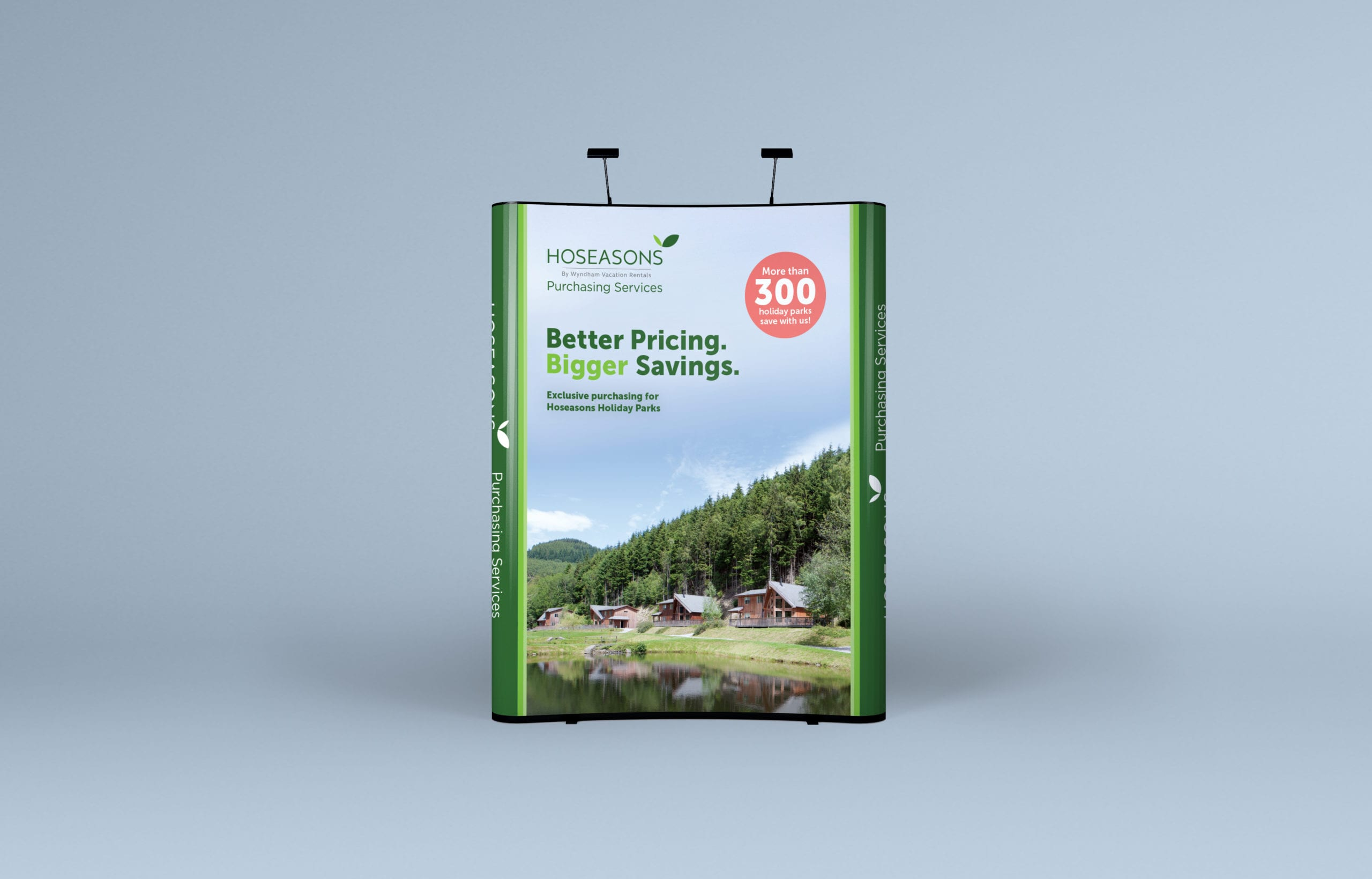 Popup display for Hoseasons Purchasing