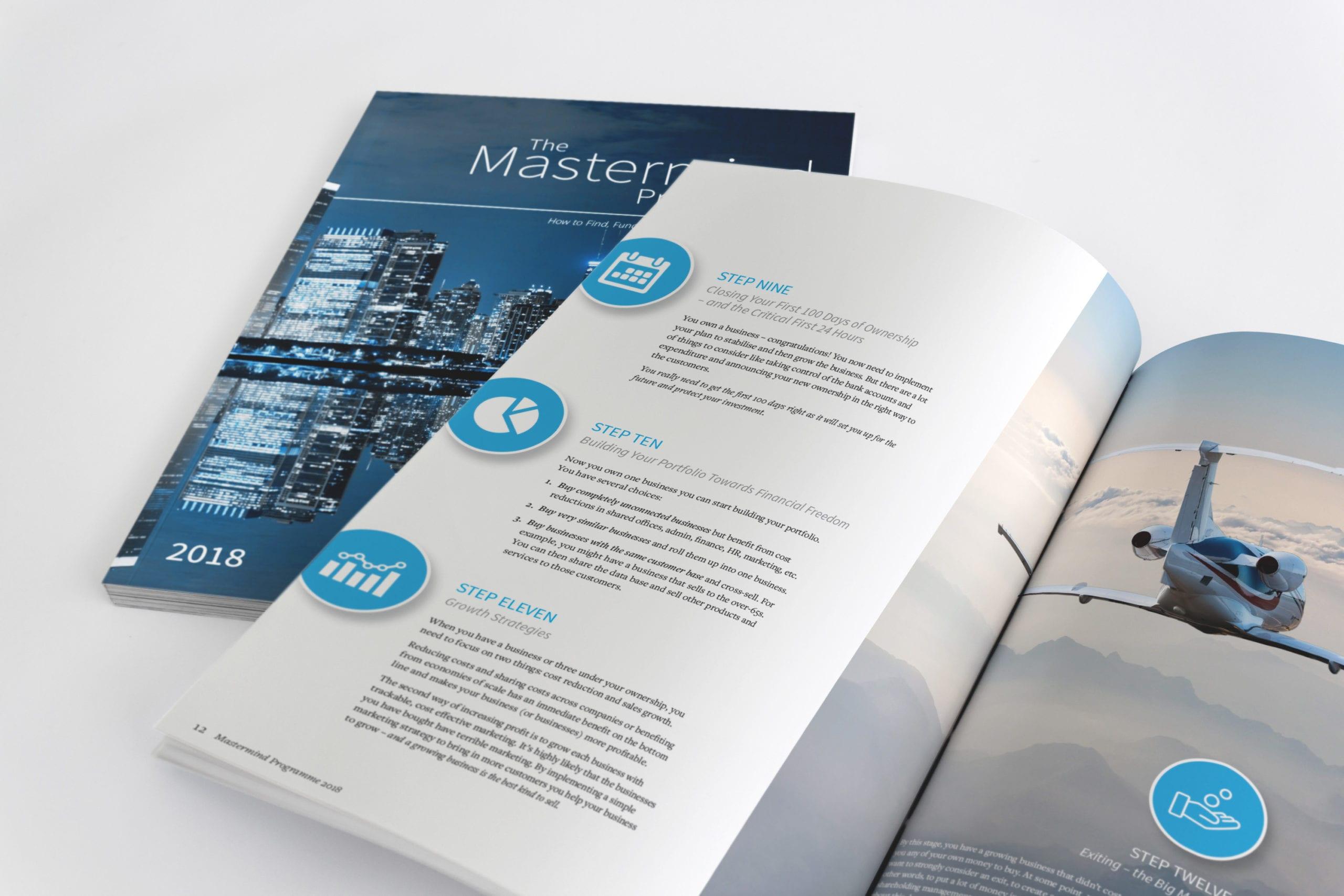 Investment brochure design for Jonathan Jay