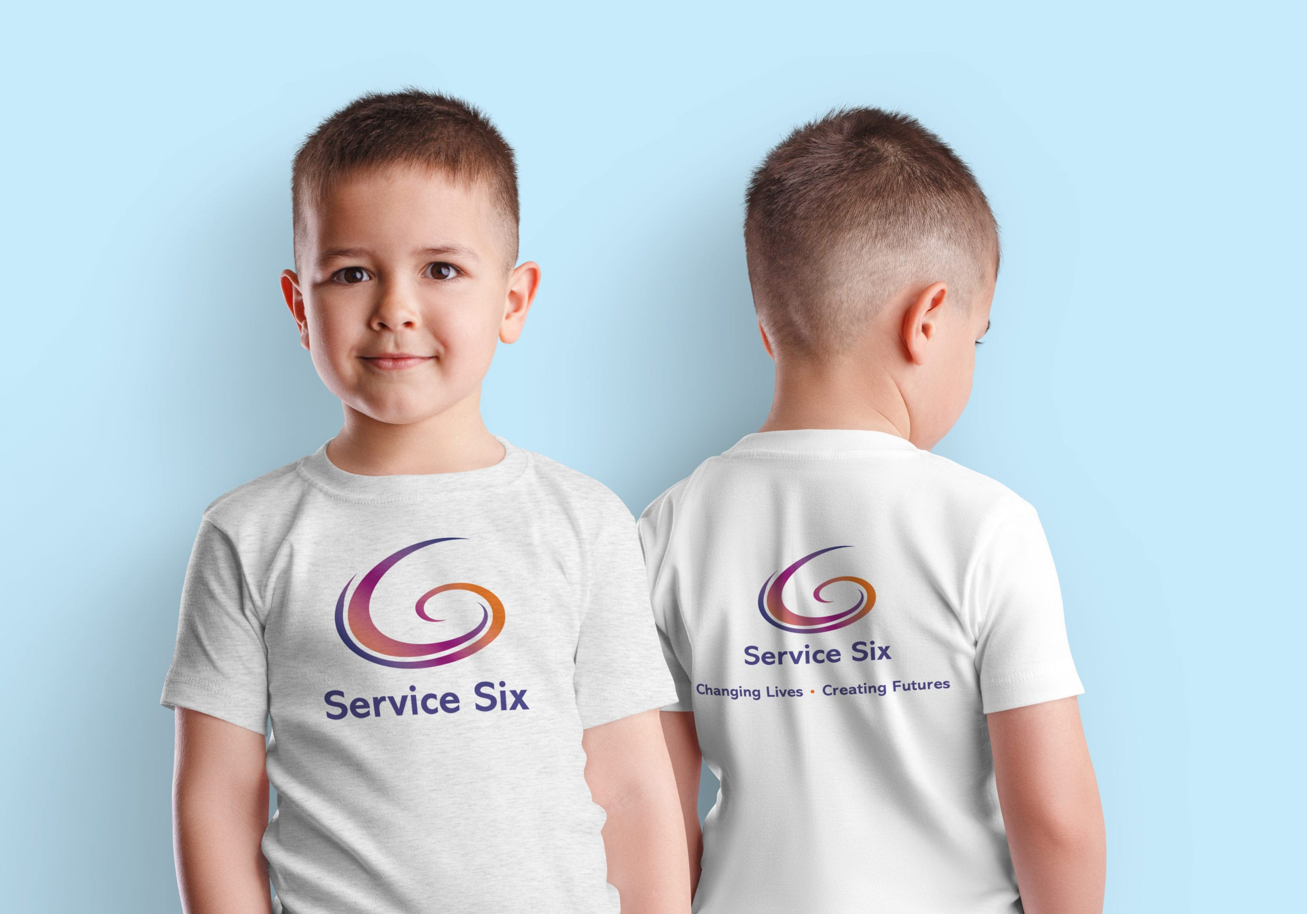 Logo design refresh for Service Six