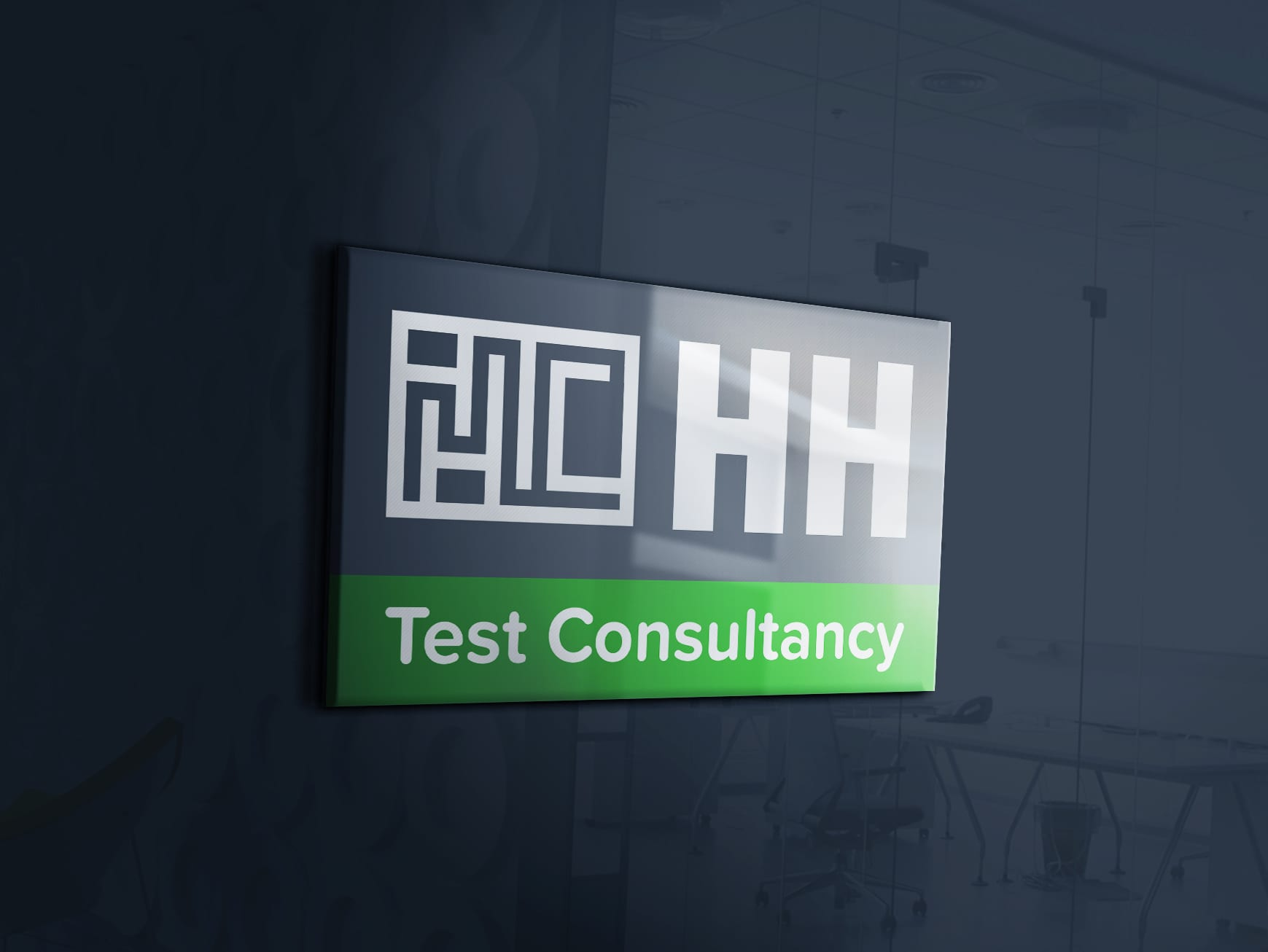 Logo design for HH Test Consultancy