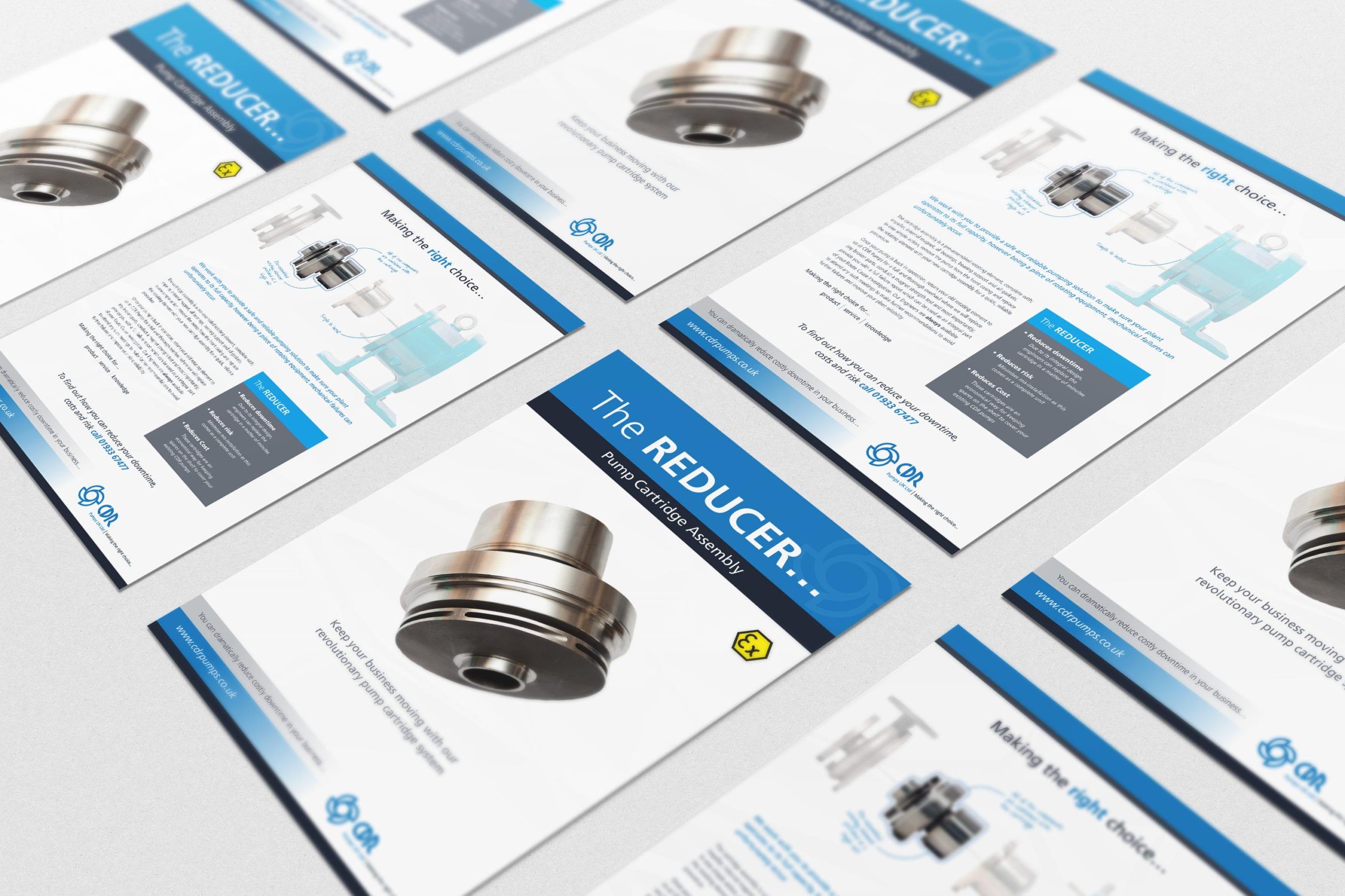 Leaflet design for CDR Pumps