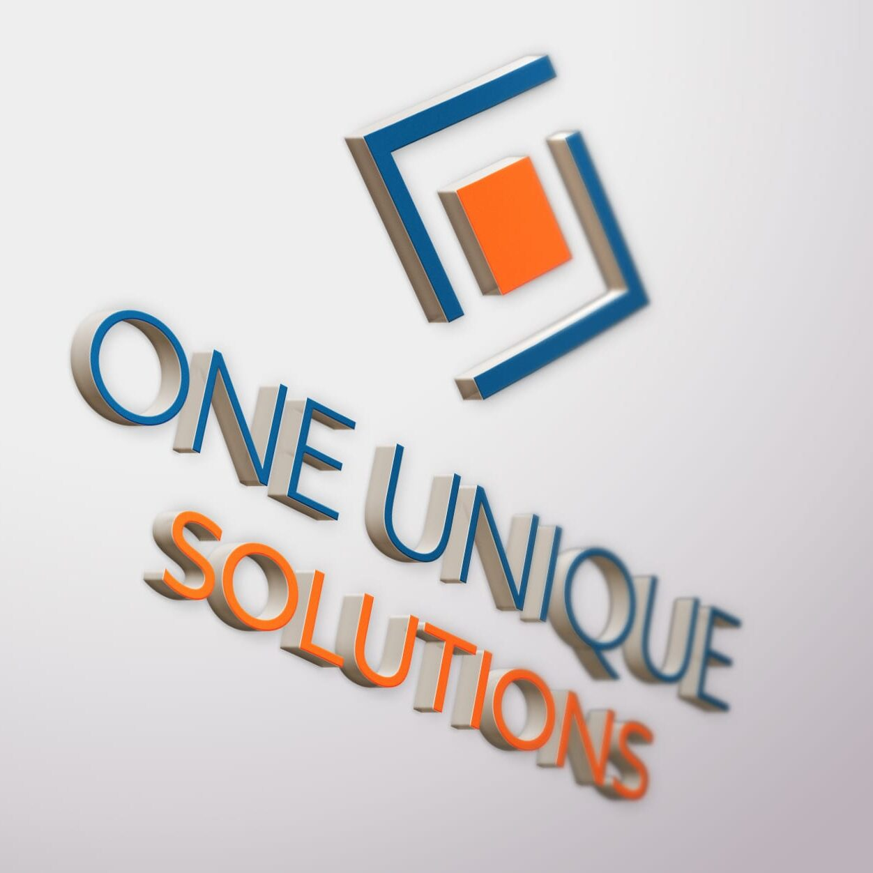 Logo design for One Unique Solutions