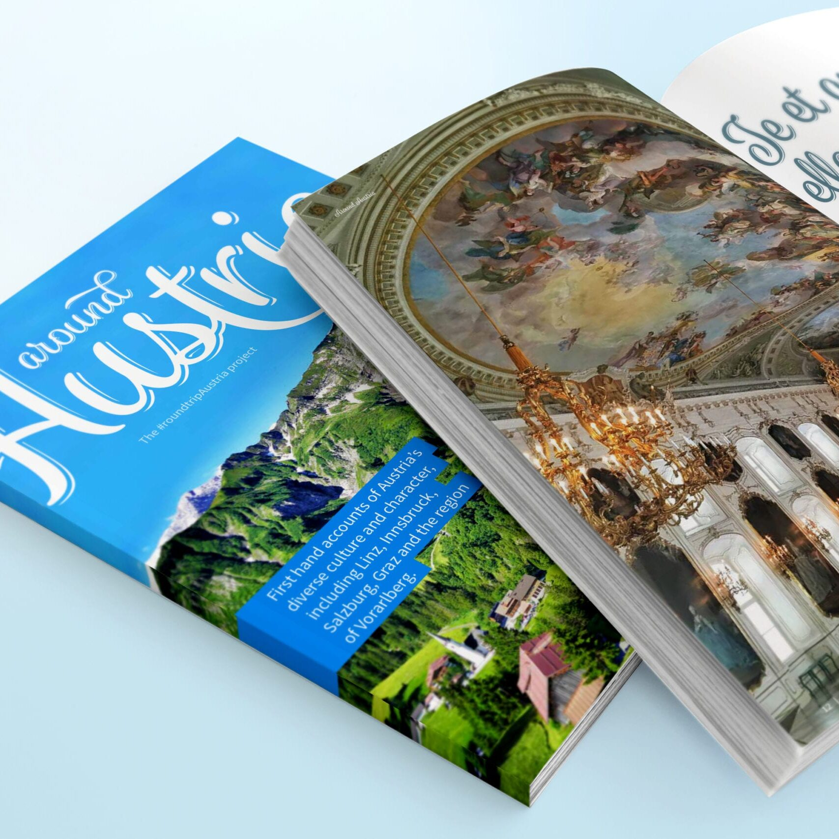 Design for an Austrian Travel magazine