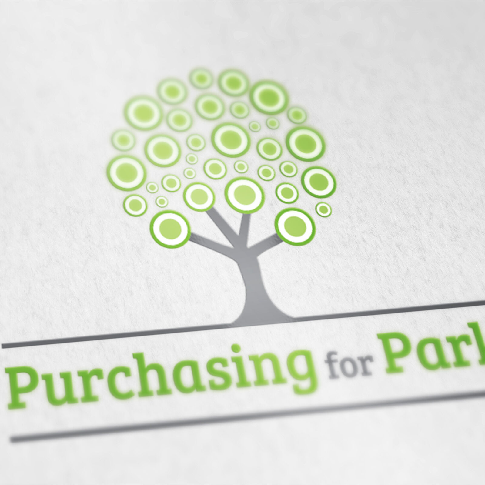 Logo design for Purchasing for Parks