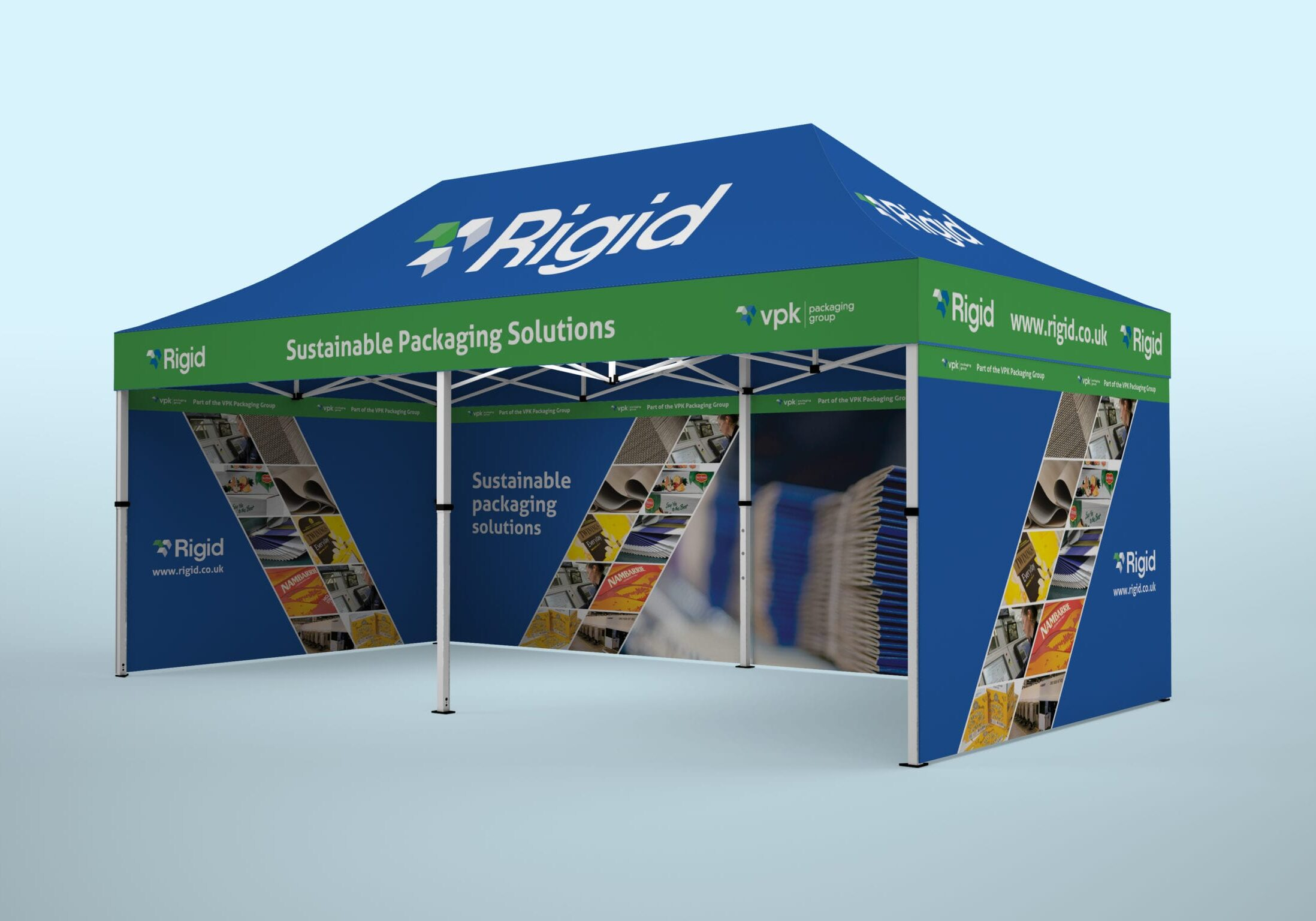 Gazebo design for Rigid Containers (now VPK)