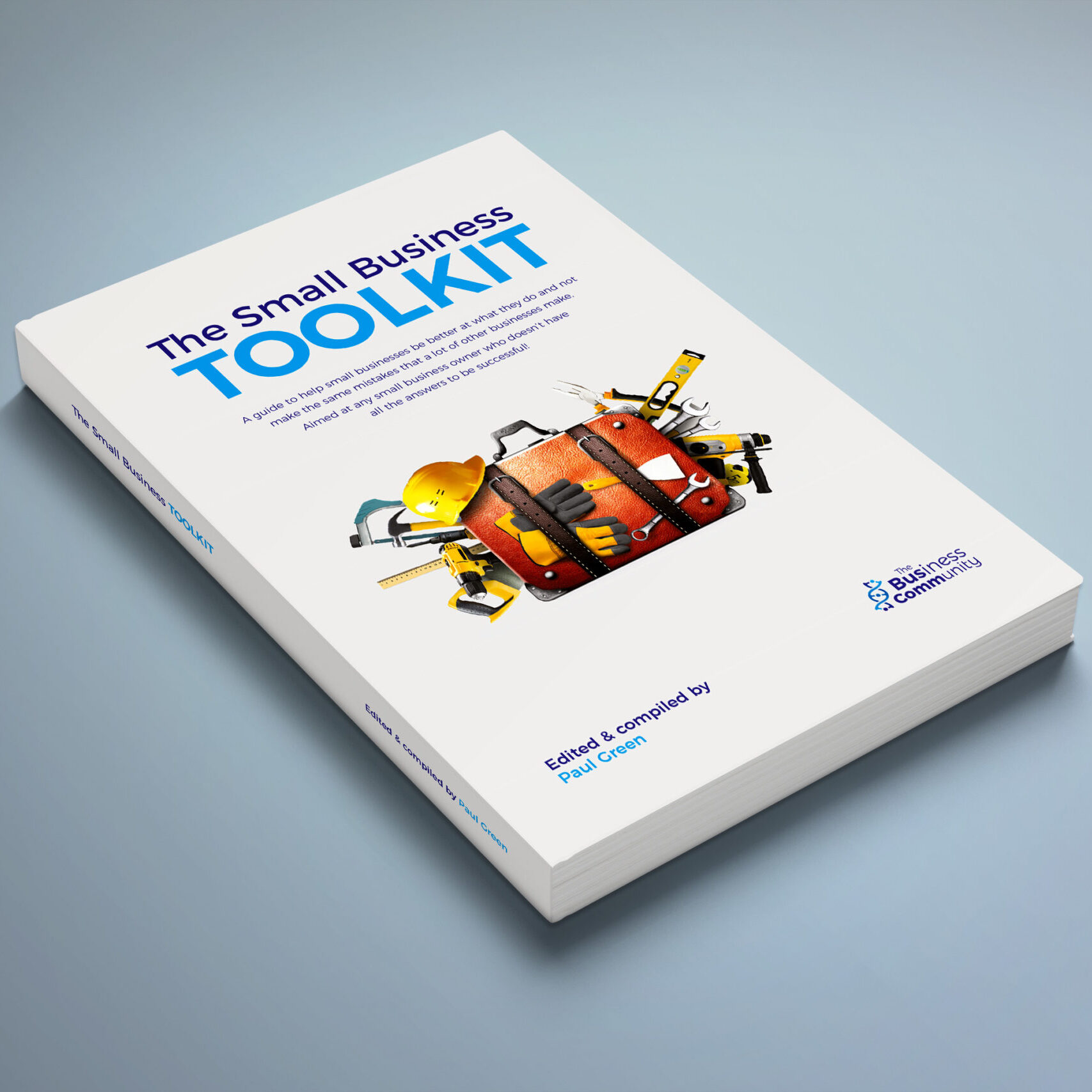 Book cover design for the Small Business Toolkit