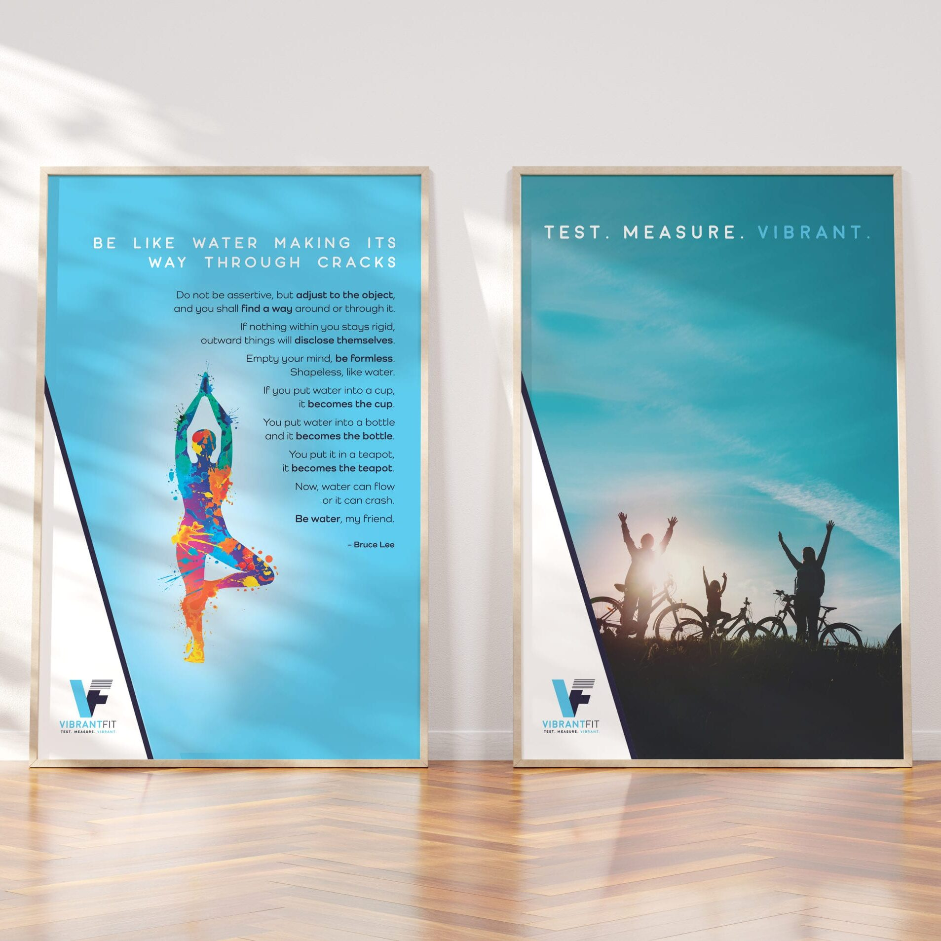 Gym board designs for Vibrandtfit