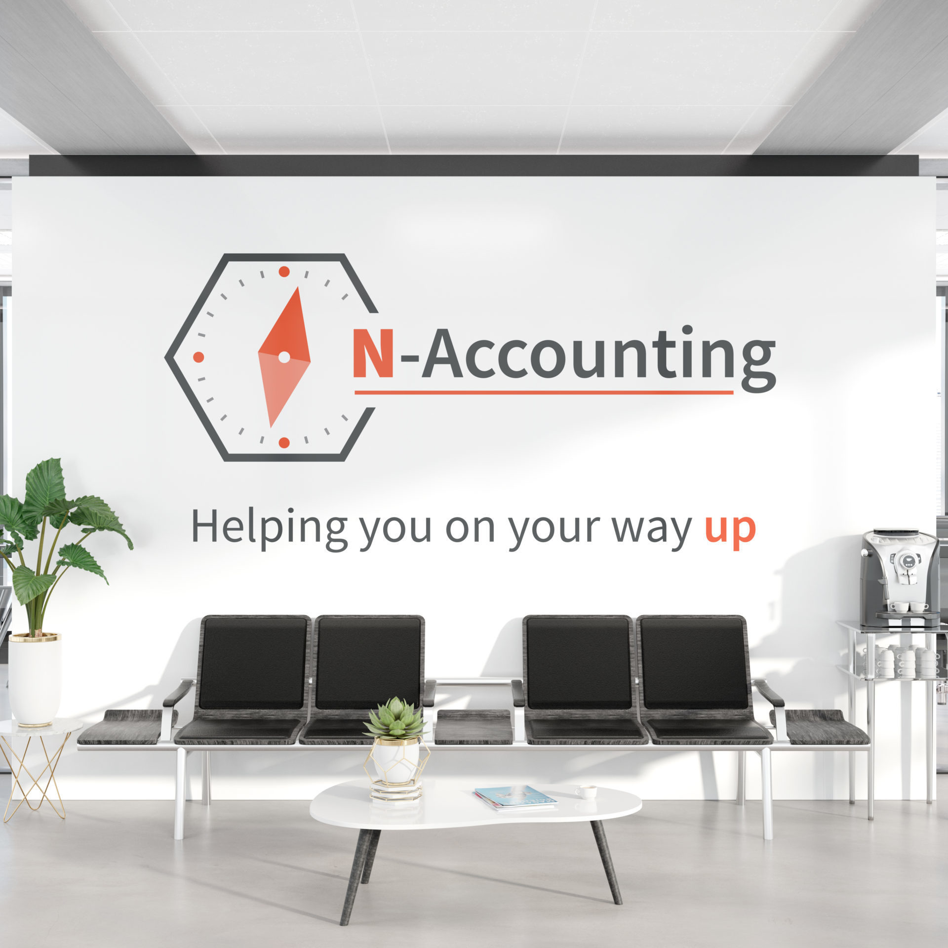 Logo design for Northants Accounting